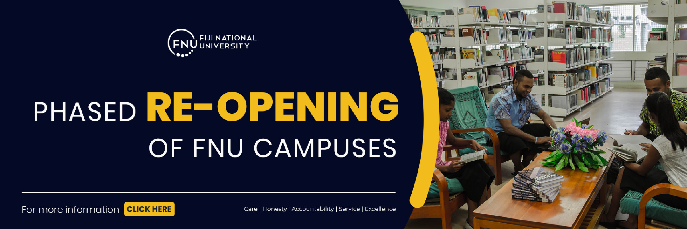 reopening of campuses