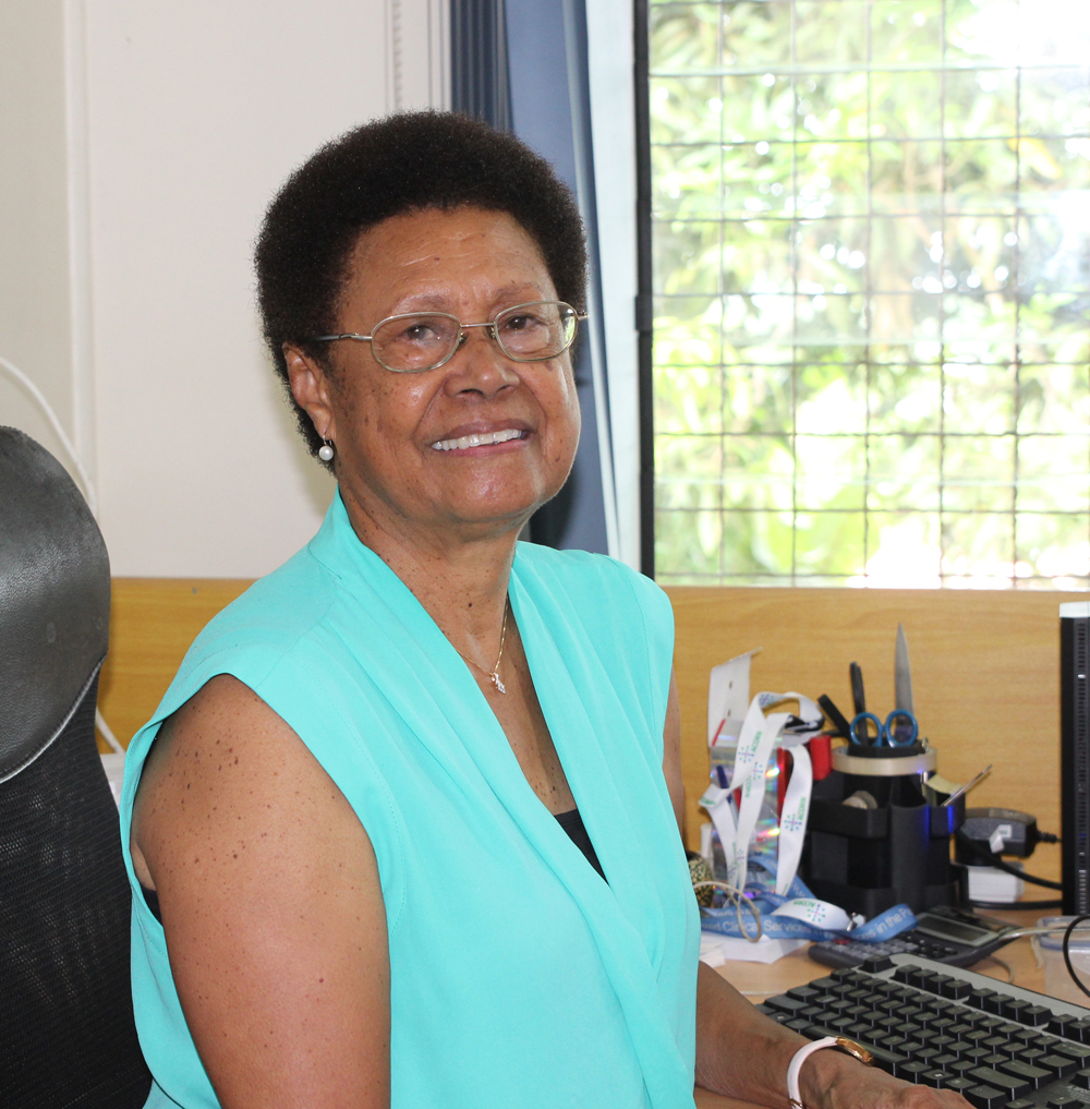 Dr Sereima Bale joined CMNHS in 1998.
