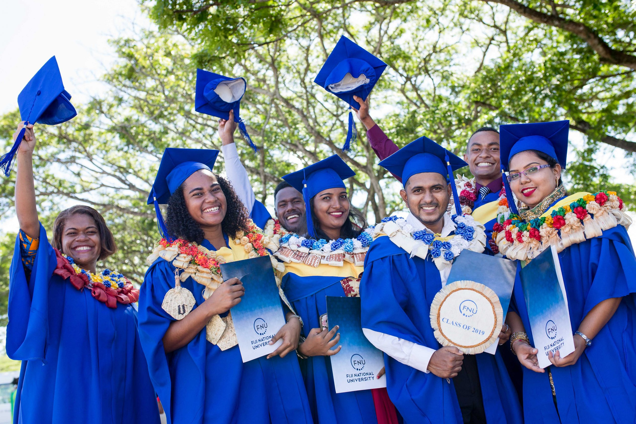FNU will host graduation ceremonies this month for students who were to have graduated in December last year