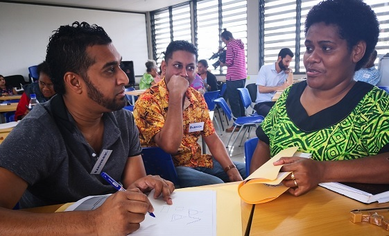 Participants at the PBL Workshop, 27 & 28 June 2019 @ the Nasinu Campus