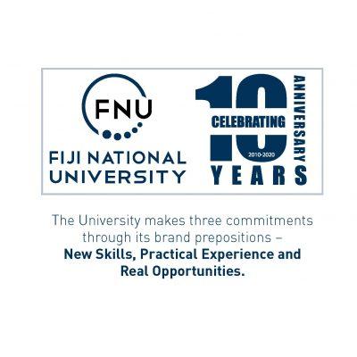 FNU Logo 10th Aniversary