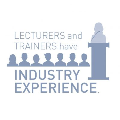 Lecturers And Trainers Have Industry Experience